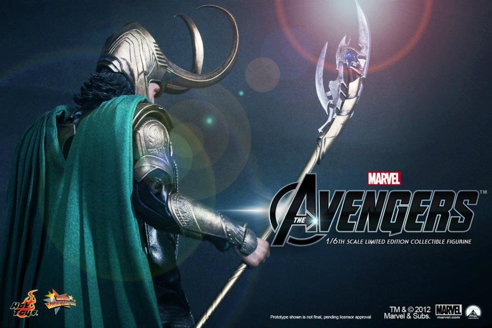 The Avengers: Loki by Hot Toys