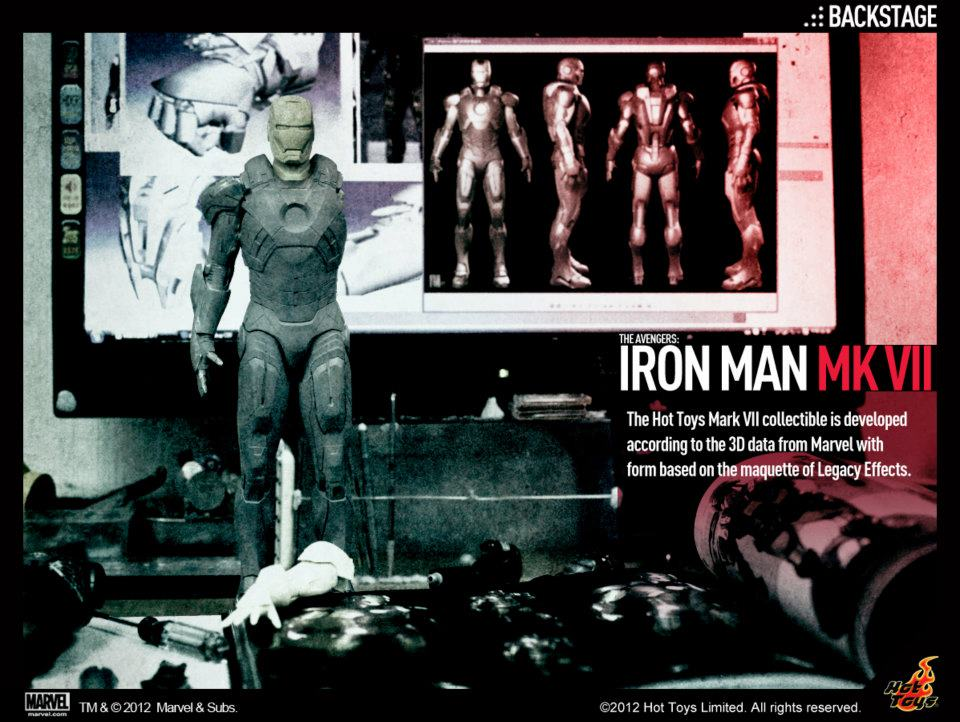Iron Man Mark 7 Sneak Peak