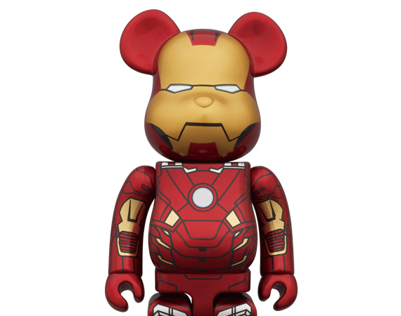 Bearbrick Iron Man Mark VII