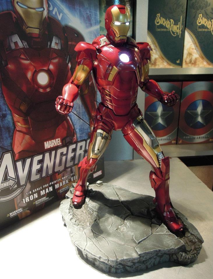 Kotobukiya: Iron Man Mark 7 Actual Product