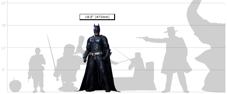 Batman 1/4th Scale Hot Toys