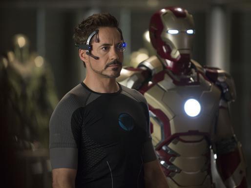 Tony with Mark XLVII