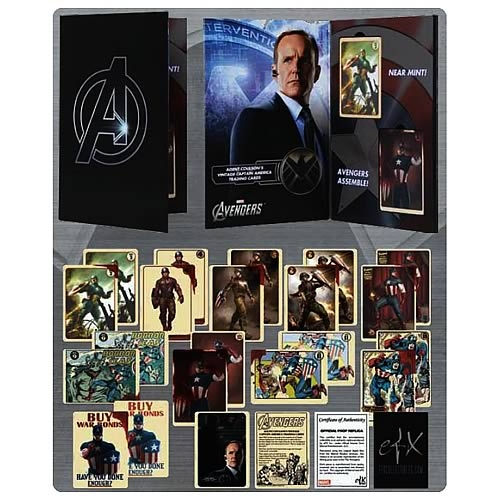 Agent Coulson's Captain Amercia Vintage Card