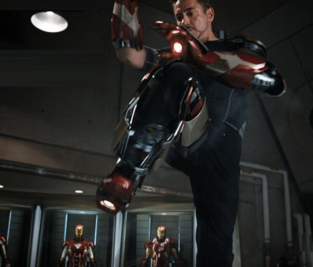 Tony Stark Experiment Mark XLII