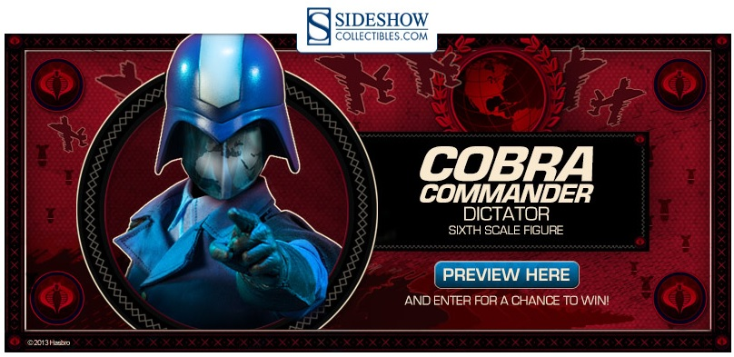 Cobra Commander Sixth Scale