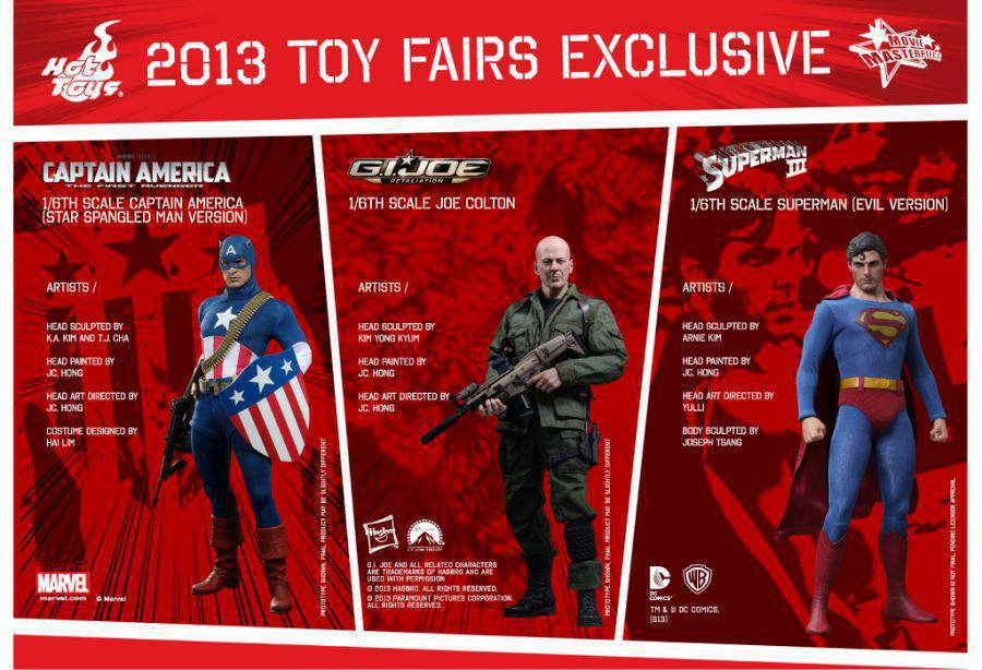 Hot Toys: Toy Fairs Exclusive