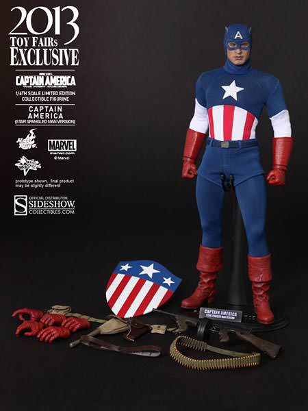 Captain America - 'Star Spangled Man' Version