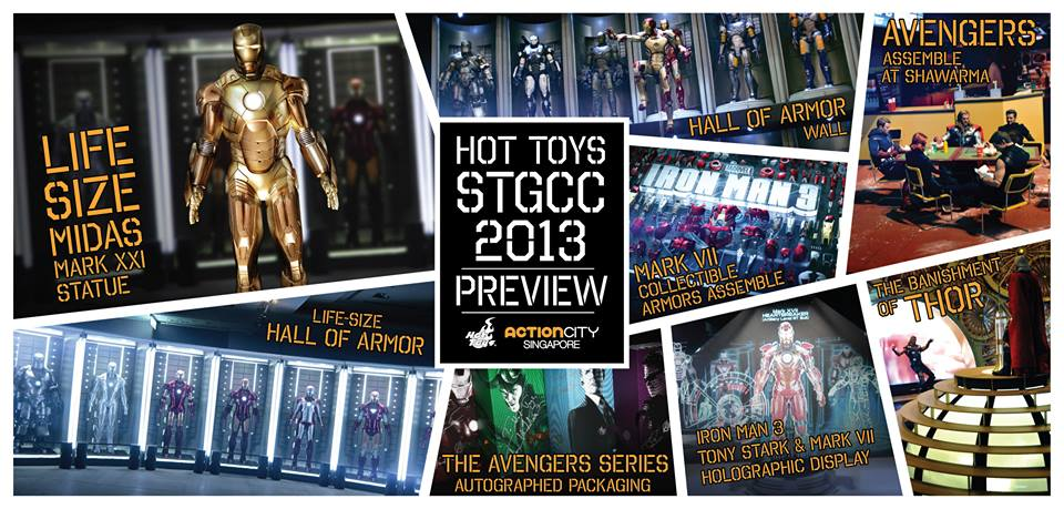 Hot Toys at STGCC