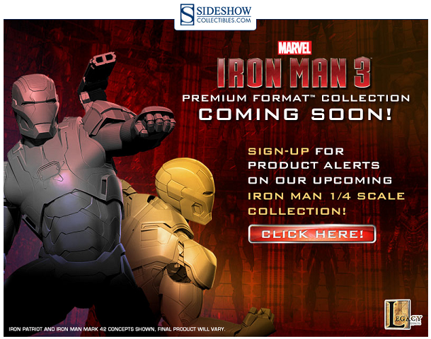 Coming Soon Iron Patriot