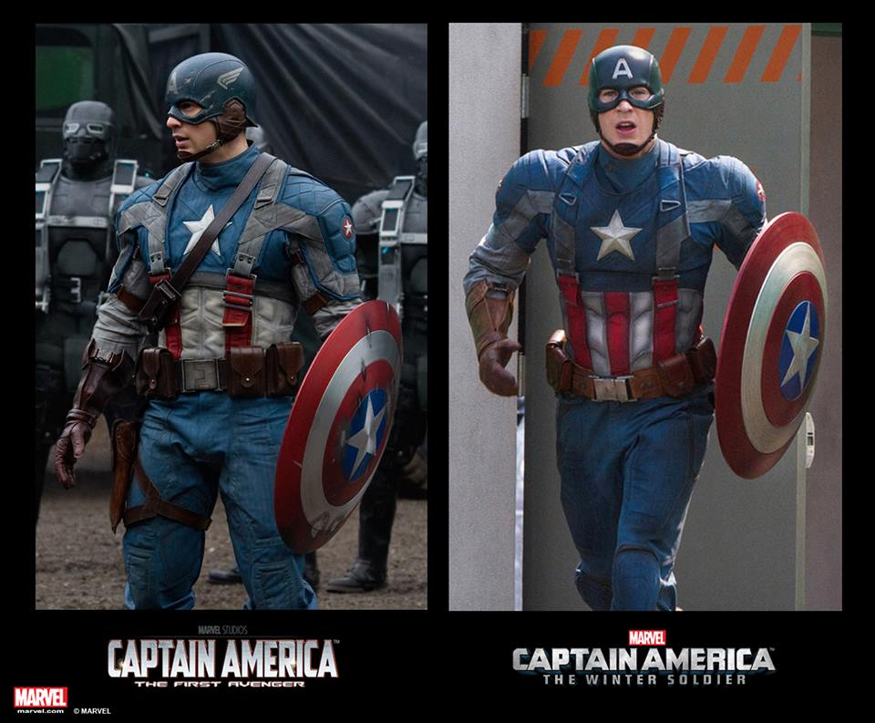 Captain America Suit Comparison