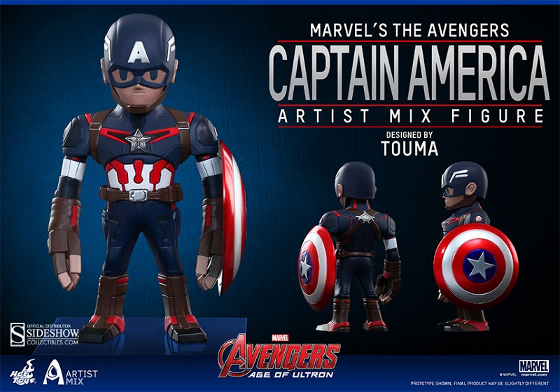 Artist Mix Captain America