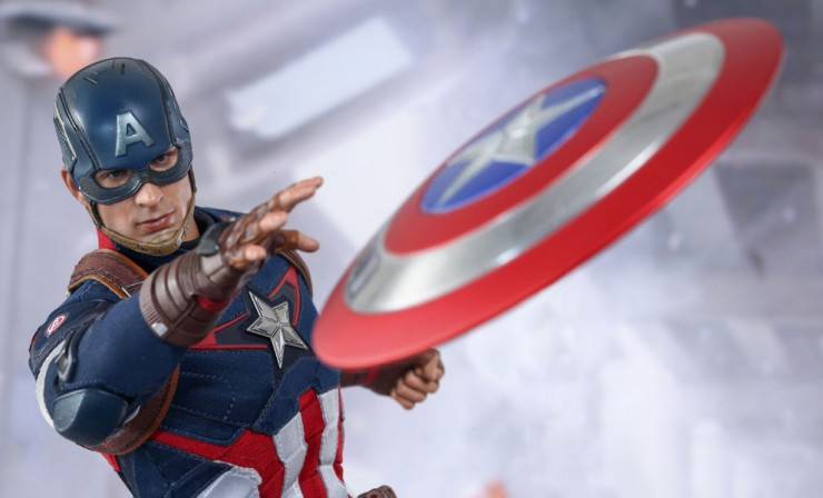 The Avengers – Age of Ultron: Captain America by Hot Toys