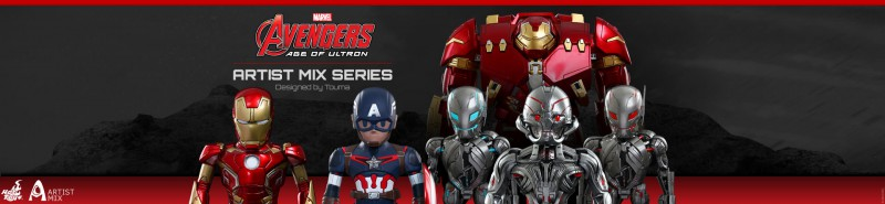 The Avengers 2: Artist Mix Series by Hot  Toys up for Pre-Order